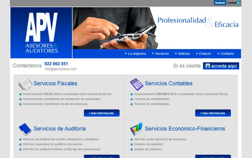 Web APV Asesores & Auditores
