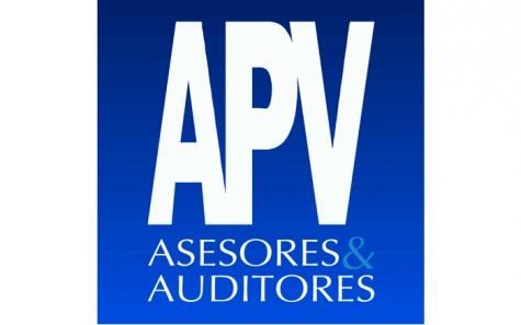 Restyling del logo APV Asesores & Auditores